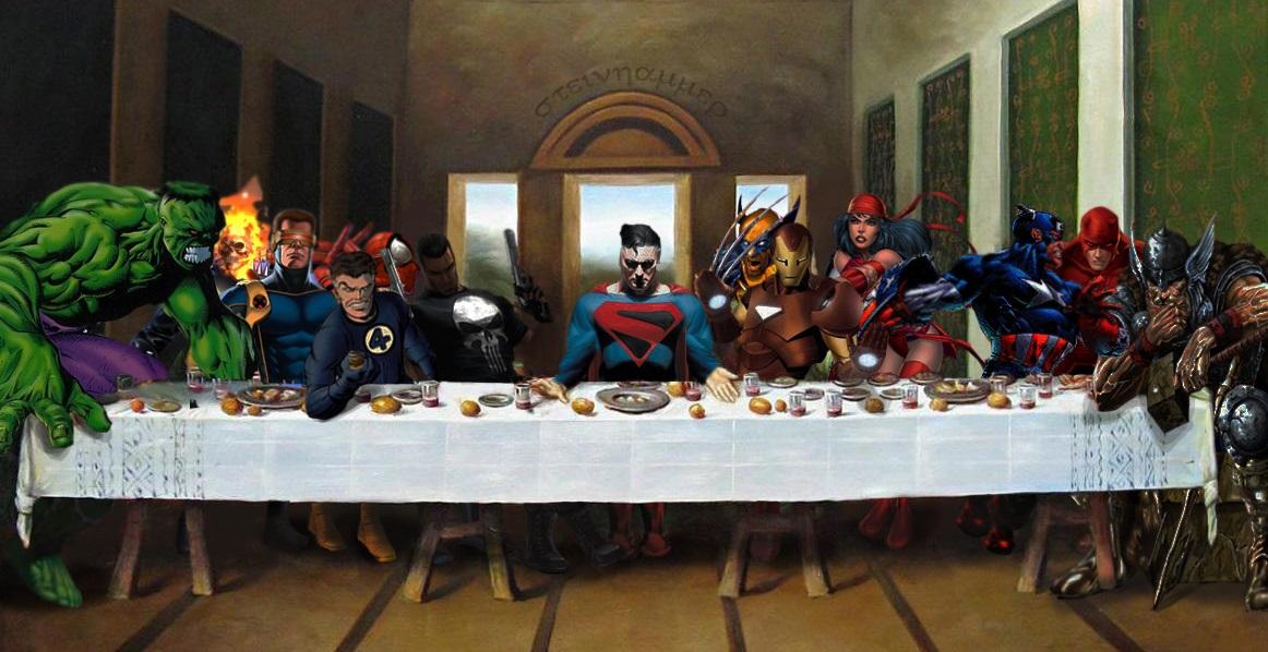 Marvel Comic Superheroes