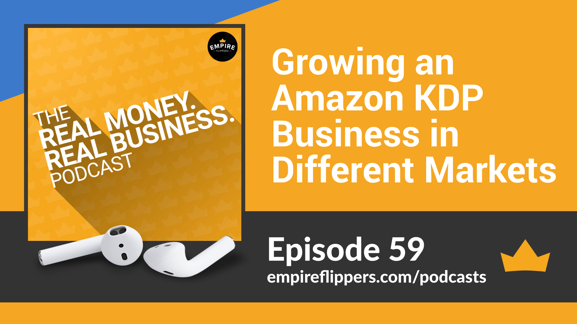 RMRB 59 Growing an Amazon KDP Business in Different Markets