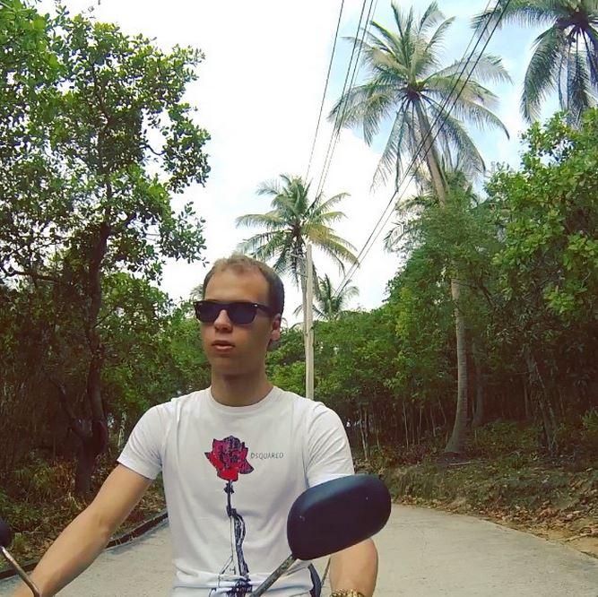 Vlad Selfie Motorbike