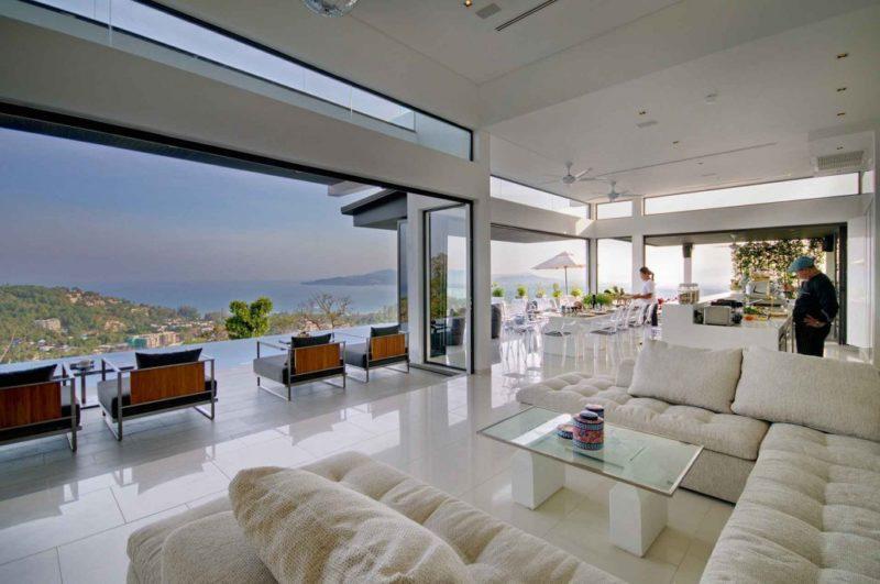 Empire Retreat Living Area