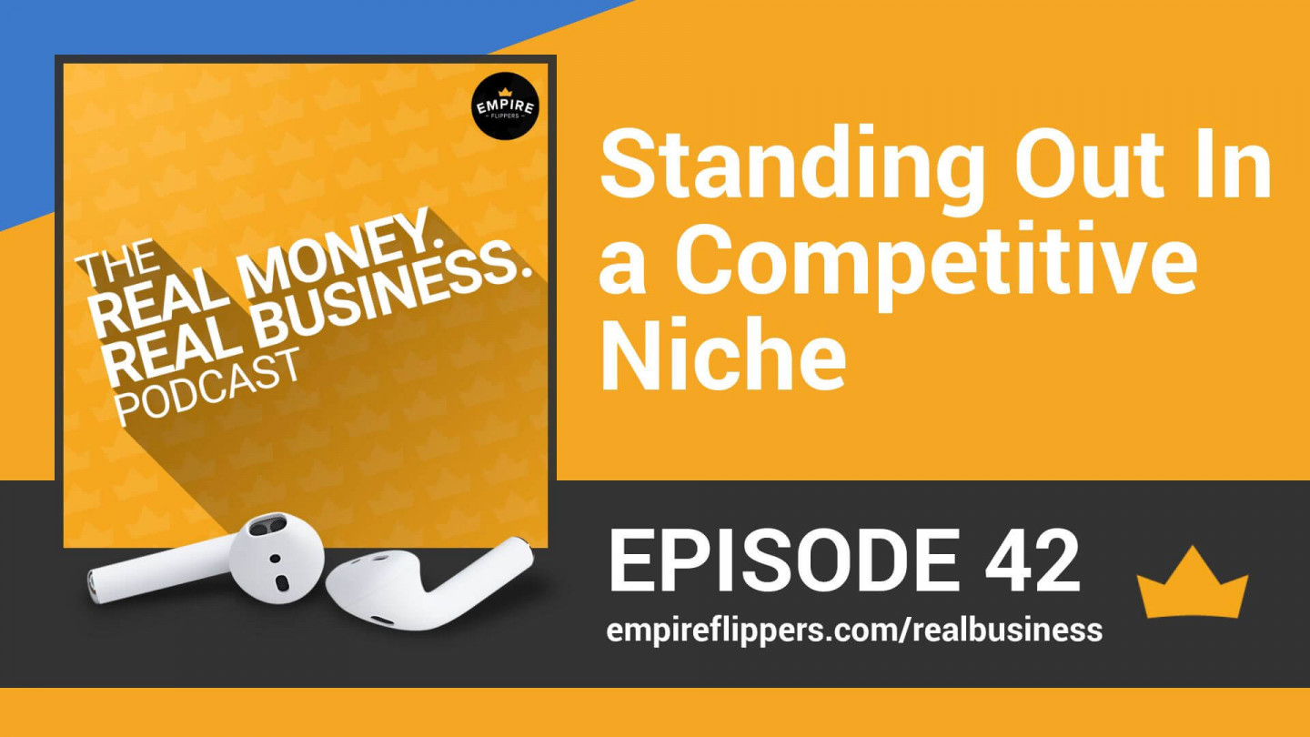 RMRB 42: Standing Out in a Competitive Niche