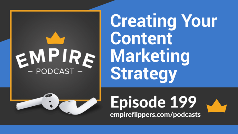 EFP 199: Creating Your Content Marketing Strategy