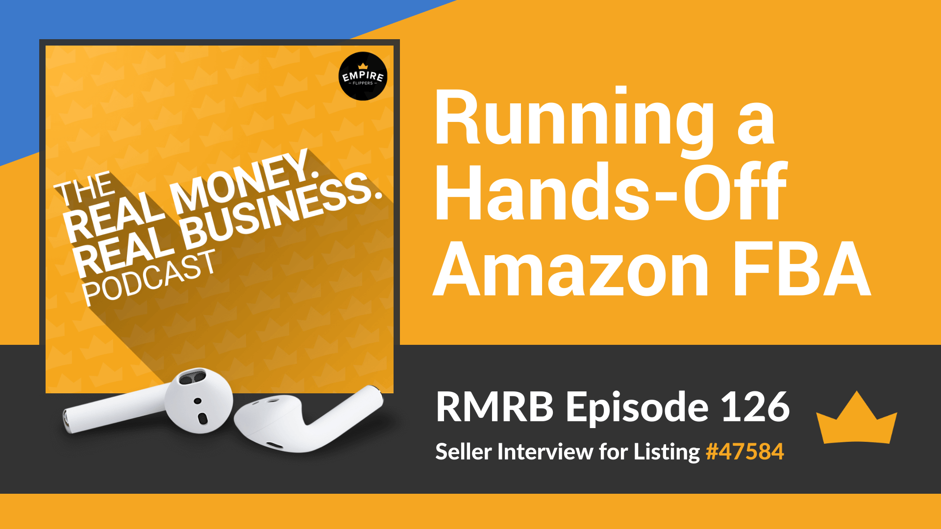 RMRB 126 - Running a Hands-Off Amazon FBA