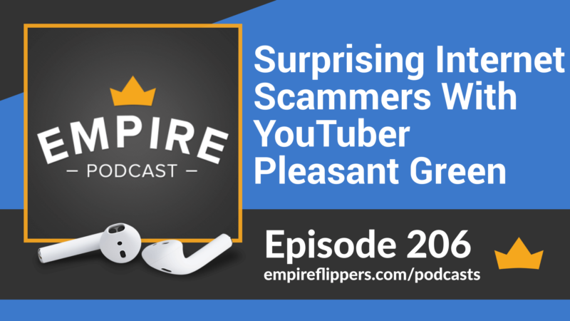 EFP 206: Surprising Internet Scammers With YouTuber Pleasant Green