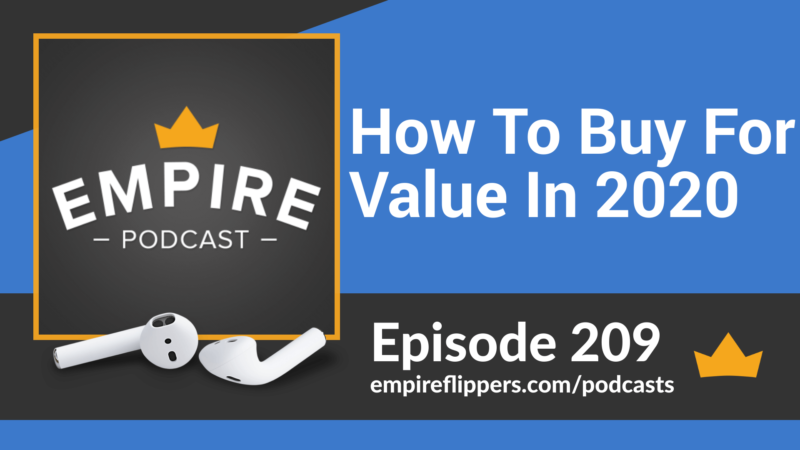 EFP 209: How To Buy For Value In 2020